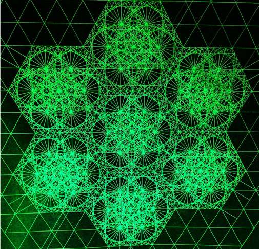 Guideposts: Photon Interference Fractal, 2012