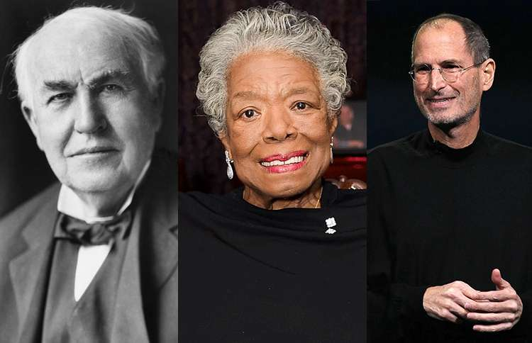 Guideposts: We share the final words of notables such as Thomas Edison, Maya Angelou and Steve Jobs
