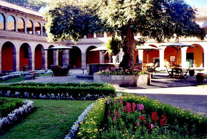 The lovely Monasterio Hotel in Cuzco, built, as its name suggests, in a former monastery