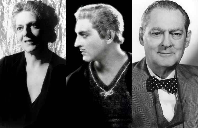 Guideposts: Ethel, John and Lionel Barrymore (l to r)