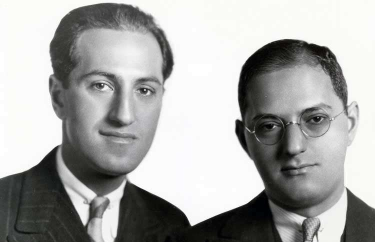 Guideposts: George (left) and Ira Gershwin