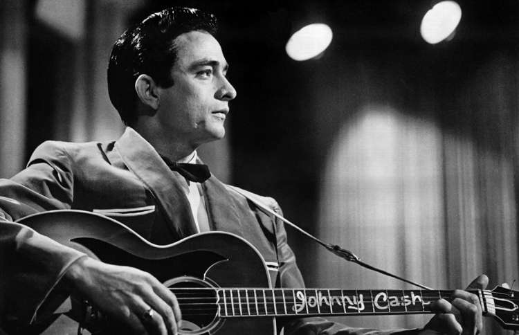 Guideposts: Johnny Cash served in the US Air Force