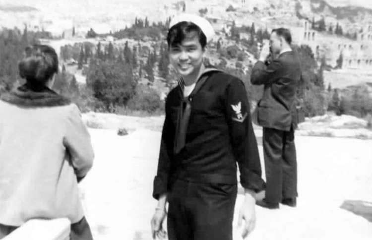 Guideposts: Winifredo D. Samoy in 1959, when he was stationed in Greece as a U.S. Navy 3rd petty officer third class