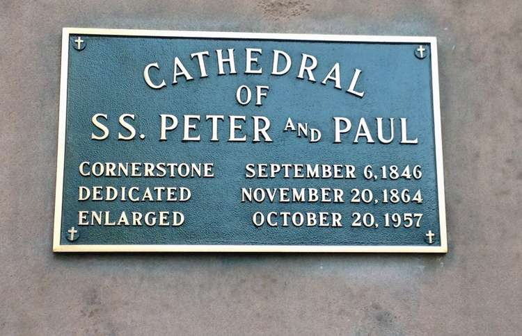 Guideposts: Cathedral Basilica of Saints Peter and Paul in Philadelphia