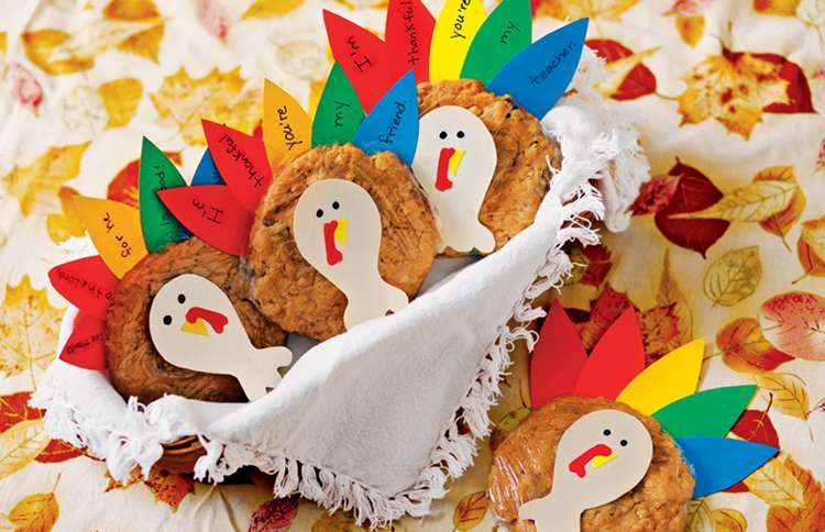 Guideposts: Adorable (and Delicious) Thanksgiving Cookies