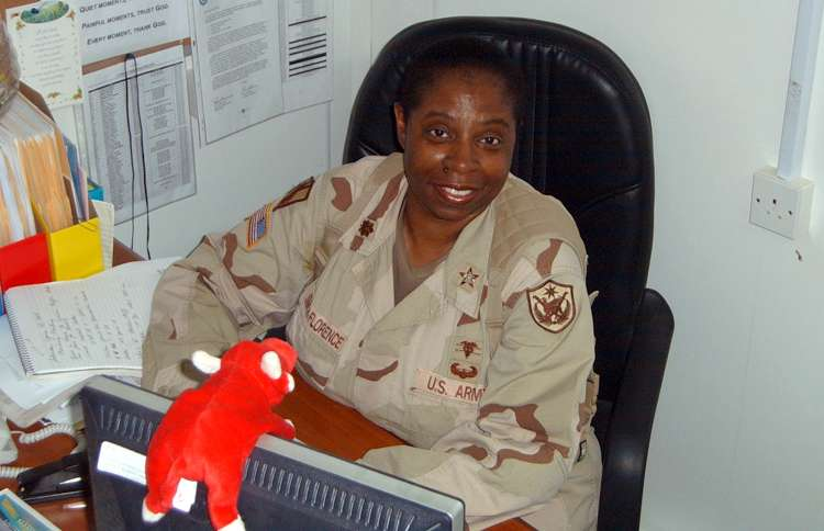 Guideposts: Lt. Col. Evelyn Smith-Florence, U. S. Army (Ret.), during her 15-month deployment in Iraq
