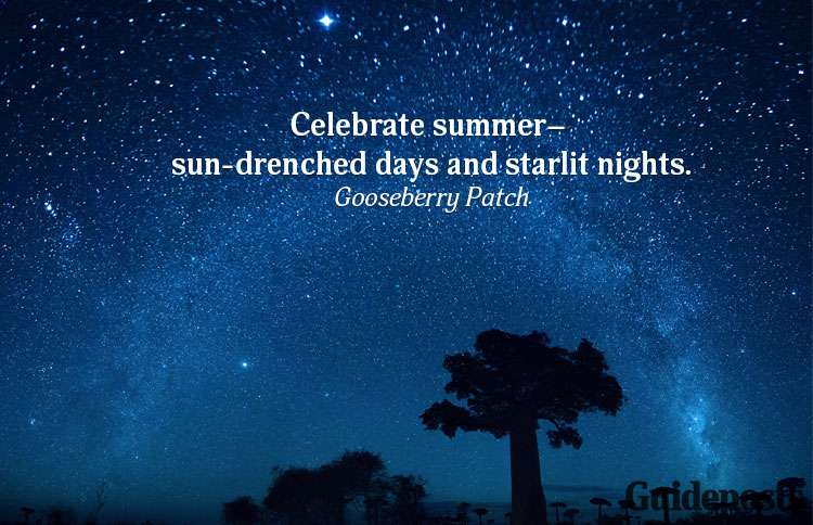 A summer quote from Gooseberry Patch
