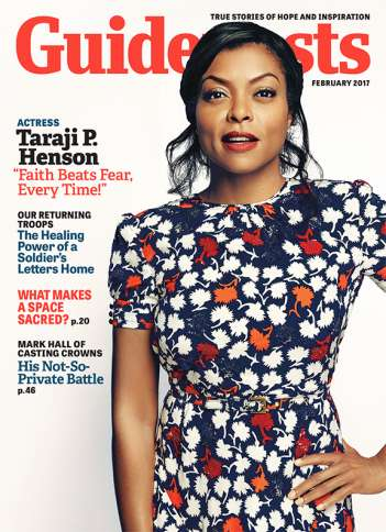 Taraji P. Henson, Guideposts Cover February 2017
