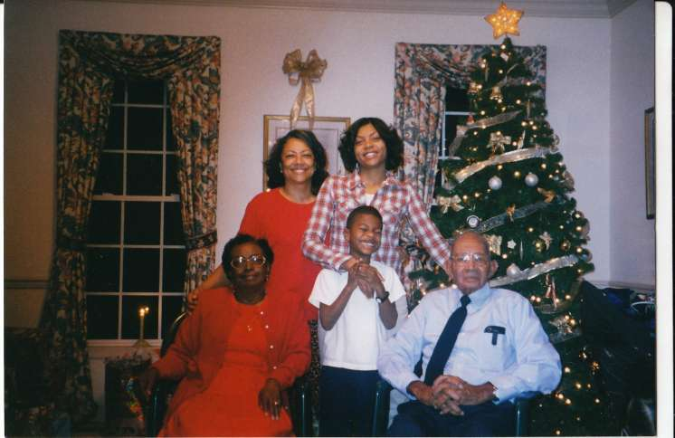 Taraji P. Henson with her family