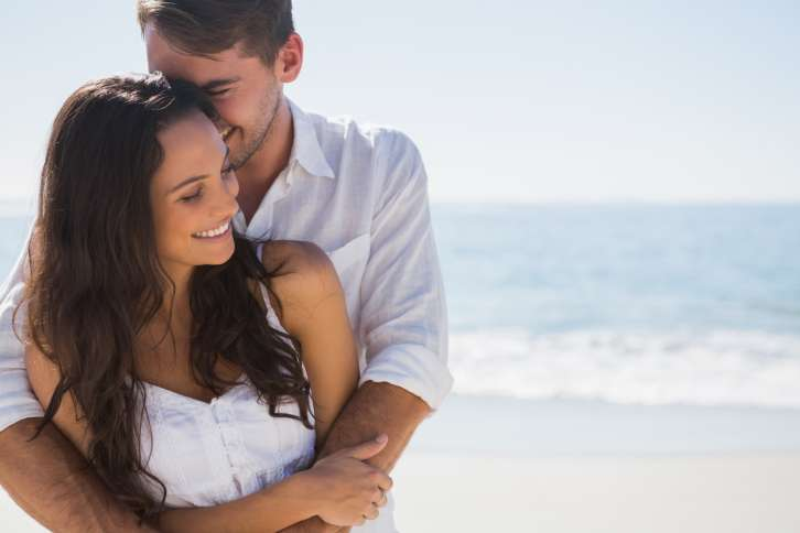 Offer hugs and kisses to your spouse. Tips for husbands and wives.