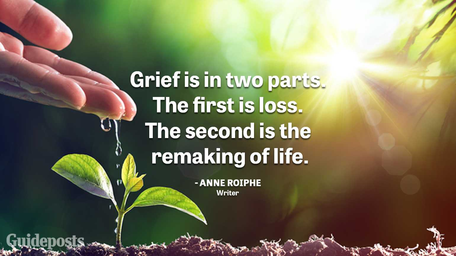 Uplifting Grief Quotes | Guideposts