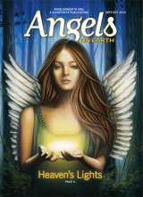An angel illustration on the cover of the September-October 2015 edition of AOE