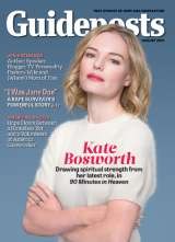 Actress Kate Bosworth, star of 90 Minutes in Heaven, on the cover of the August 2015 Guideposts