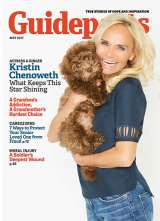 In her cover story for the May 2017 issue of Guideposts, actress and singer Kristin Chenoweth shares the motto her mother gave her that helps the actress remain open to life's possibilities.