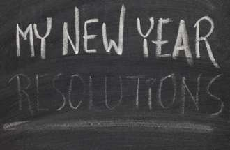 Guideposts blogger Diana Aydin is making no resolutions for the New Year.