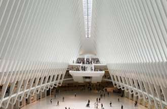 A transit hub in New York City that's a little like heaven.