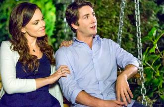 Rachel Boston and Jesse Moss in A Gift of Miracles