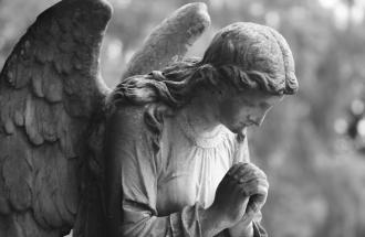Statue of an angel. Photo by Katty King, Thinkstock.