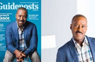 Courtney B. Vance Guideposts Cover Behind the Scenes