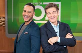 Dr. Oz and Devon Franklin