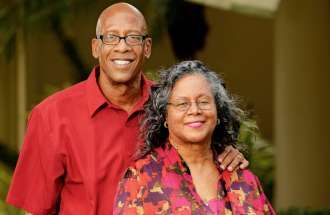 Renee Ruffin-Price and her husband