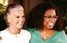 Oprah Winfrey and Ali MacGraw