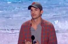 Ashton Kutcher at the Teen Choice Awards