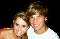 Ben Breedlove with his sister Ally
