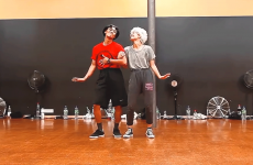 """Couple Dancing to Bob Marley's """"This is Love"""""""