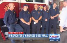 Firefighters rescue heart attack victim
