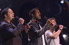Forte tenors Sean Panikkar, Fernando Varela and Josh Page perform