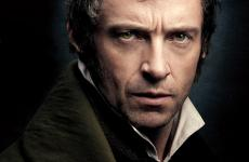 Hugh Jackman in a scene from Les Misérables