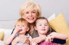 Guideposts: 60 Minutes' Lesley Stahl embraces her two young granddaughters