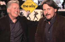 Martin Sheen and Emilio Estevez