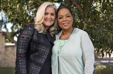 Shauna Niequist and Oprah Winfrey