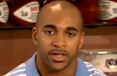 Former Giants wide receiver David Tyree