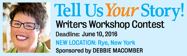 Tell Us Your Story! Enter for a chance to attend the 2016 Guideposts Writers Workshop!