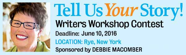 Enter to win the Guideposts Writers Workshop 2016